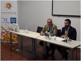 Jacobo Florido y José María Losantos en la presentación.