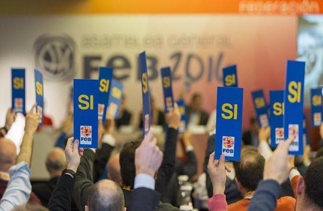 Asamblea Federación Española Baloncesto FEB
