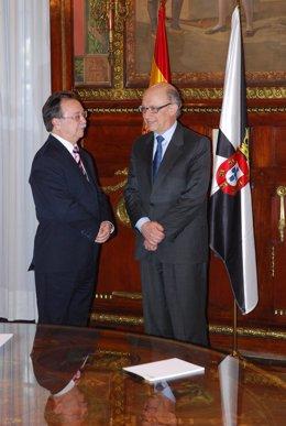 Juan Vivas y Cristóbal Montoro