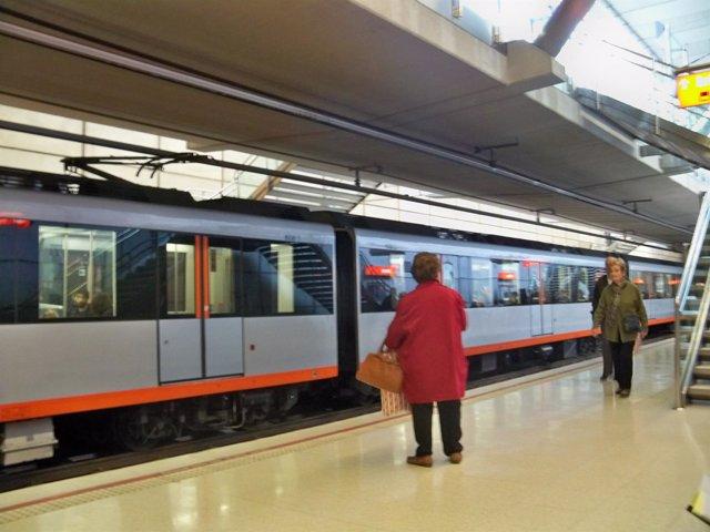 Estación de Metro Bilbao