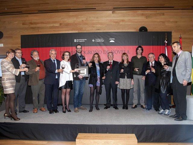 Entrega Premio Logroño Novela