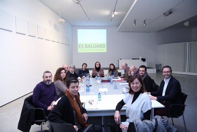 Reunión del patronato de la Fundación Es Baluard