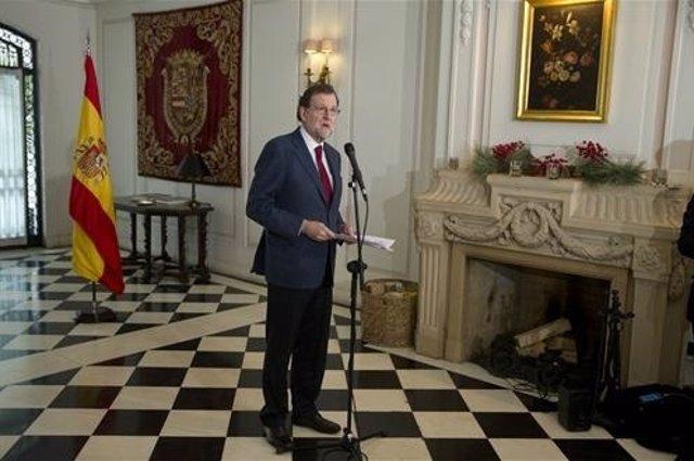 El presidente del Gobeirno, Mariano Rajoy