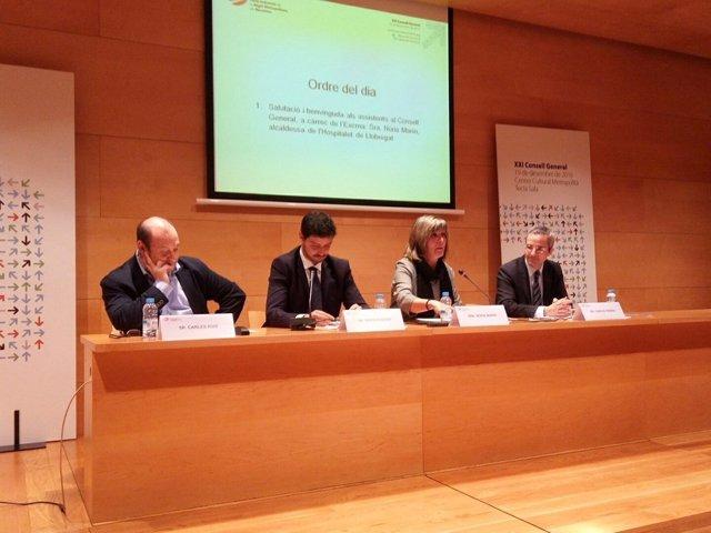 Núria Marín preside el Pacte Industrial de la Regió Metropolitana de Barcelona
