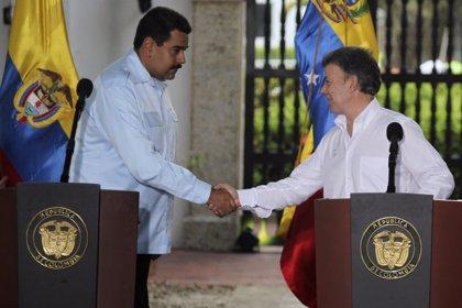 """Maduro y Santos acuerdan abrir la frontera """"de forma progresiva"""""""