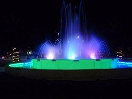 Laredo recupera la fuente de la Plaza de Carlos V