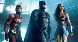 The Flash, Batman y Wonder Woman, juntos en la nueva foto de La Liga de la Justicia