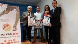Toledo acogerá el 'Champions Futsal Cup Toledo 2016' del 28 al 30 de diciembre