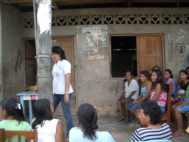 La ONG ya ha colaborado en otras zonas de Perú como en el Zapallal