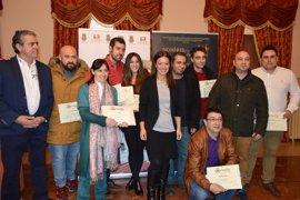 El 'Taco de bacalao ahumado al momento' de Latitud Food&Drink, tapa ganadora del X Tapearte de Ciudad Real