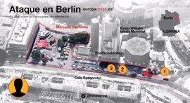 Gallegos en Berlín destacan que la ciudad respira bastante calma tras el atentado