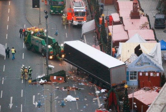 Lugar del atropello en Berlín