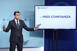 """Maillo: """"Los cargos del PP tendrán que pasar una vez al año ante asambleas de afiliados que evaluarán su gestión"""""""