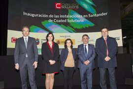 La planta de Coated Solutions en Santander facturará casi 100 millones anuales