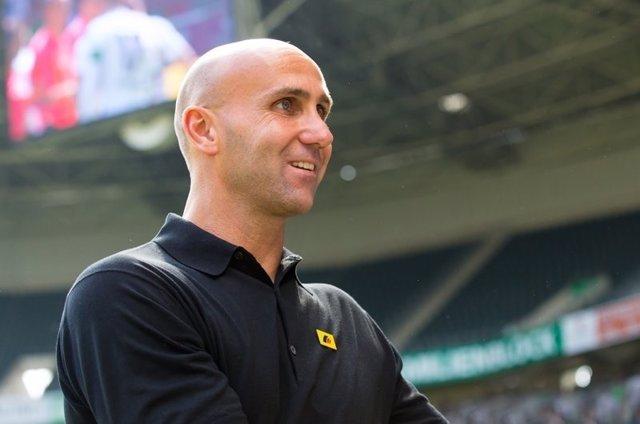 André Schubert, entrenador del Borussia Mönchengladbach