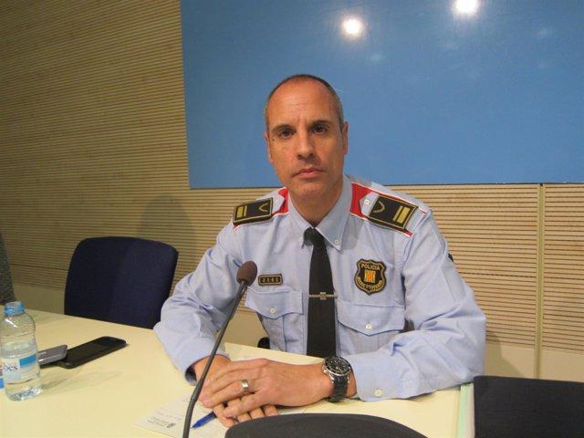El portavoz de Mossos, Xavier Porcuna