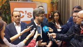 """Hervías dice que en C's existe la crítica """"desde la lealtad"""" con los valores del partido"""