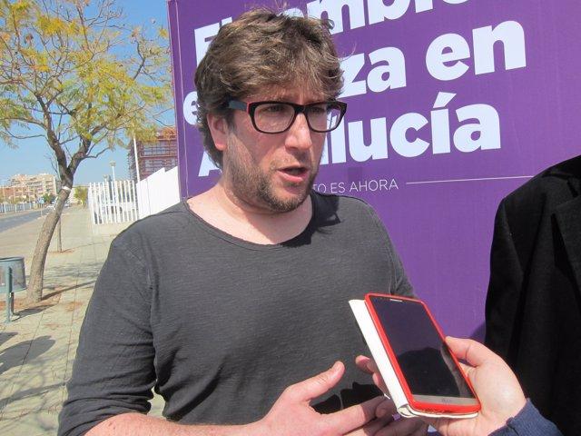 El eurodiputado de Podemos Miguel Urbán.