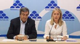 "Álvarez-Cascos (Foro) denuncia una campaña ""discriminatoria"" de Aena con la sidra asturiana"