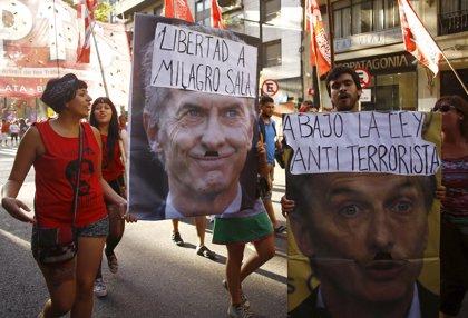 """HRW le pide a Macri la """"inmediata liberación"""" de Milagro Sala"""