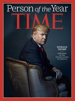 Donald Trump, persona del año para 'Time'
