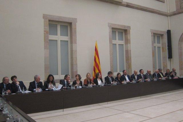 Reunión sobre el referéndum celebrada el 23/12/2016