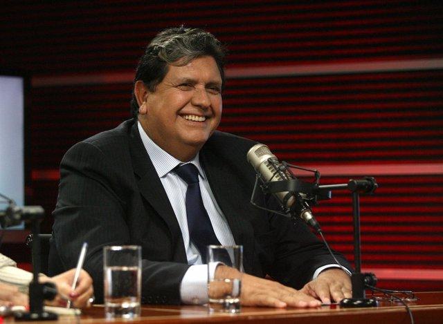 El presidente de Perú, Alan García.