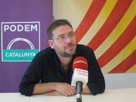 """Fachin (Podem) pide que el nuevo partido de los 'comuns' no salga de un pacto """"entre cúpulas"""""""