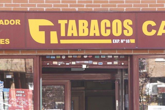 Estanco, estancos, cajetilla de tabaco, cigarro, fumar, consumo