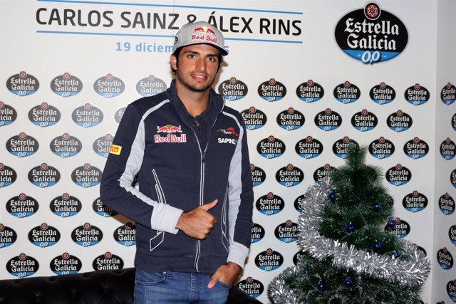 Carlos Sainz, entrevista personal Estrella Galicia 0,0