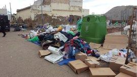 Decomisan en Melilla cientos de kilos de productos en un mercadillo ilegal