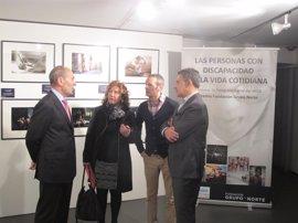 El IRJ acoge la exposición fotográfica 'Las personas con discapacidad en la vida cotidiana' de la Fundación Grupo Norte
