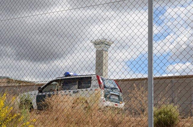 Cárcel de Soto del Real, coche de la Guardia Civil