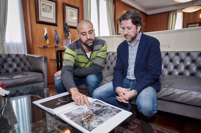 Iombi García y Carlos Alonso