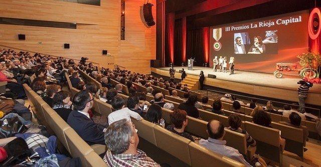 Edición anterior de los Premios La Rioja Capital