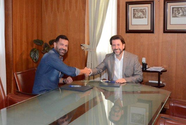Manuel Artiles y Carlos Alonso