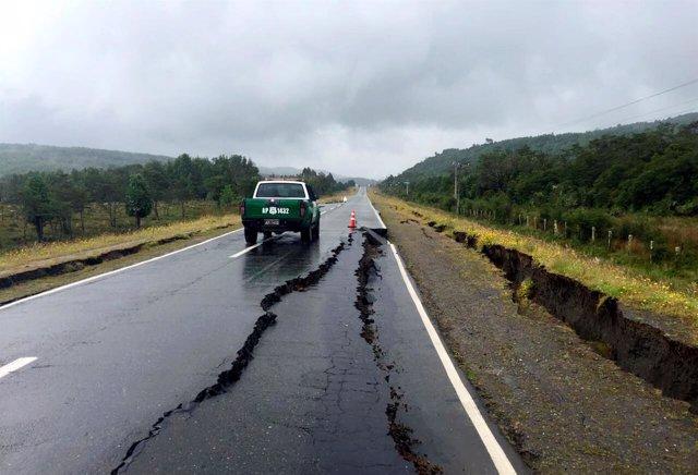 Terremoto de Chile - Diciembre de 2016