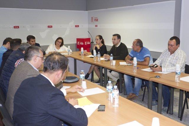 Reunión de la gestora del PSOE este lunes