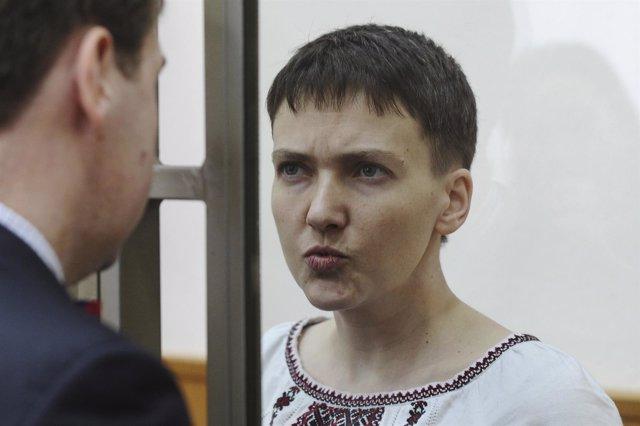 Nadezhda Savchenko, detenida en Rusia