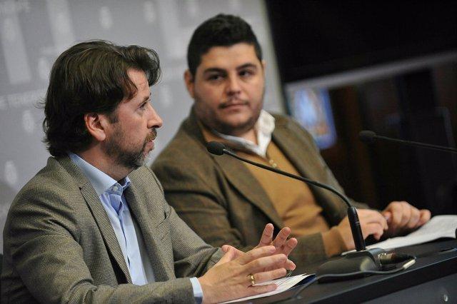 Carlos Alonso y Leo Benjumea