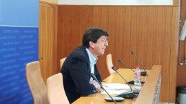 """Ciudadanos augura que los tribunales """"tumbarán"""" el decreto andaluz sobre las 35 horas"""