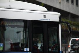 La EMT reforzará este jueves un total de 55 líneas por la restricción de circulación