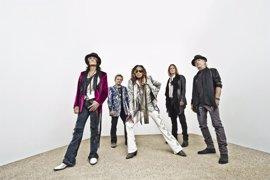Aerosmith cerrará su gira europea en Tenerife el 8 de julio