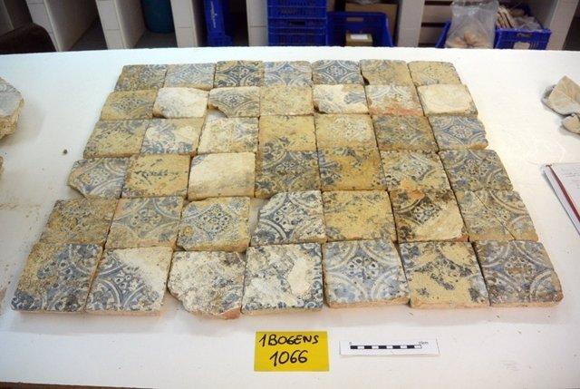 Conjuntos de azulejos de Manises (siglos XV-XVI)