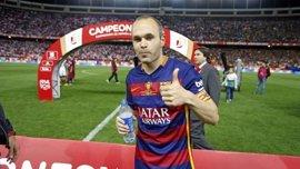 """Iniesta: """"Tengo la ilusión de retirarme en el FC Barcelona"""""""