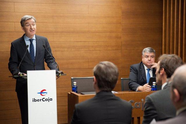 El CEO de Ibercaja, Víctor Iglesias