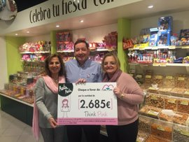 Martín Martín entrega a Amac Gema 2.685 euros