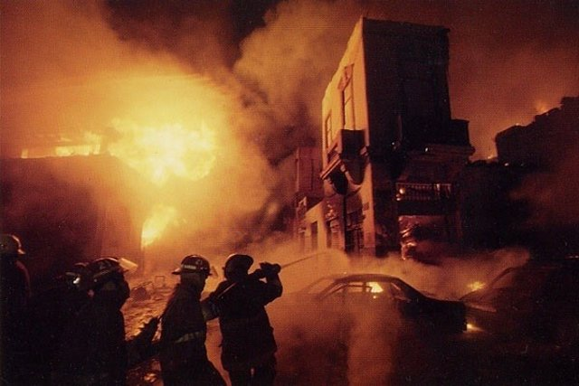 Incendio Mesa Redonda