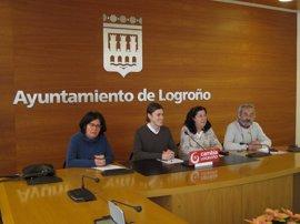 """Cambia cree que el PP ha llevado """"al desguace económico"""" a Logroño en este 2016"""