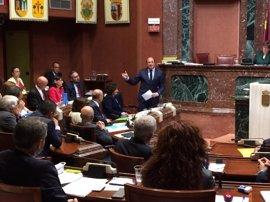 """Presidente murciano aplaude el """"buen"""" trabajo de Ciudadanos para que Murcia pueda tener aprobados sus presupuestos"""